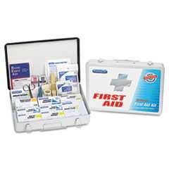 PhysiciansCare, First Aid Kit, 75 People, Metal