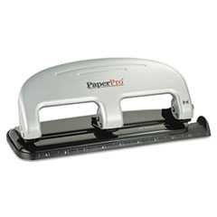 PaperPro, ProPunch, Three-Hole Punch, 20-Sheet Capacity, Black/Silver