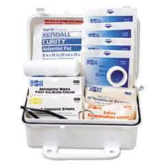 Pac-Kit, Ansi, 7 1/2 in x 2 3/4 in x 4 1/2 in, First Aid, 10 People, Weatherproof, Plastic