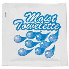 NatureHouse, 4 in x 7 in, Moist Towelettes, Lemon, White, 1000/Case