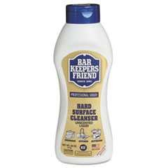 Bar Keepers Friend, 26 oz, Soft Cleanser, Hard-Surface, 9/Case