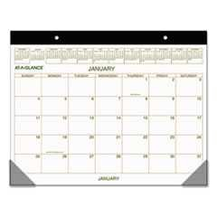 At-A-Glance, 22 in x 17 in, 2015 Desk Pad, Two-Color