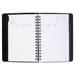 At-A-Glance, 5 1/2 in x 8 1/2 in, 2015-2016 Planner, Weekly/Monthly, Copper/Black