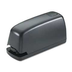 Electric Stapler with Staple Channel Release Button, 15-Sheet Capacity, Black