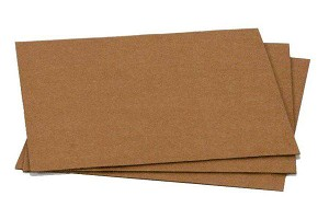 "24"" x 36"", Corrugated Pad, 200# S.W., Kraft, 10/Set"