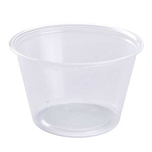 4 oz., Plastic, 20-125/Case
