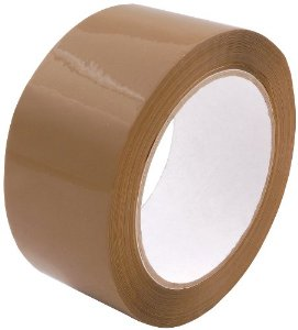 "3"" x 110 Yds., 2.12 Mil., Tan, Carton Sealing Tape"