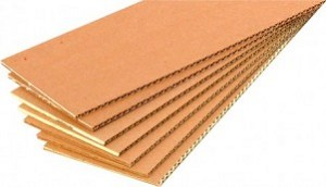 "48"" x 96"", Corrugated Trim Sheet, 200# S.W., Kraft"