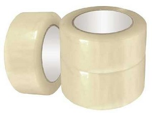 "3"" x 110 Yds., 1.75 Mil., Clear, Carton Sealing Tape"