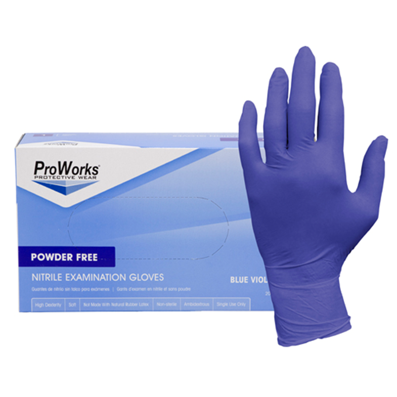 3 Mil. Nitrile Gloves