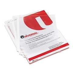 #UNV21130 - Top-Load Poly Sheet Protectors, Letter, 100/Box
