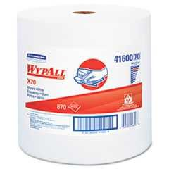 "#KCC41600 - Wypall, 12 1/2"" x 13 2/5"", Jumbo, Perforated, X70, White, 870/Roll"