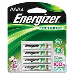 #EVENH12BP4 - Energizer, AAA, e² NiMH Rechargeable Batteries, 4/Case
