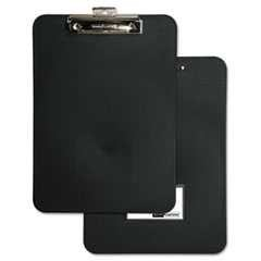 "#BAU61624 - Unbreakable Recycled Clipboard, ½"" Capacity, 8½"" x 11"", Black"