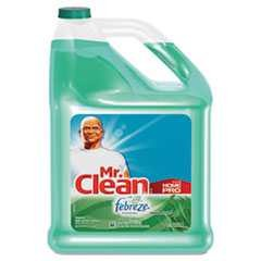 #PGC23124CT - Mr. Clean, 128 oz, Cleaning Solution, w/Febreze, Multipurpose, Meadows & Rain Scent, 4/Case