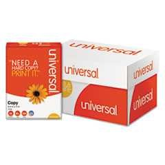 "#UNV21200 - Copy Paper, 20lb, 8½"" x 11"", 92 Brightness, White, 500 Sheets/Ream, 10 Reams/Case"
