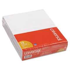 "#UNV35615 - Scratch Pads, Unruled, 5"" x 8"", White, 12 100-Sheet Pads/Pack"