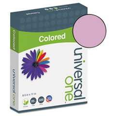 #UNV11212 - Colored Paper, 20lb, 8-1/2 x 11, Orchid, 500 Sheets/Ream