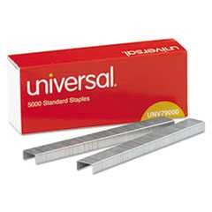 #UNV79000VP - Standard Chisel Point 210 Strip Count Staples, 5,000/Box, 5 Boxes per Pack