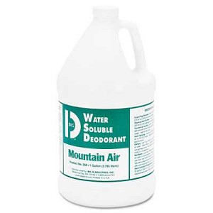 #BGD1358 - Big D, Water-Soluble Deodorant, 1 Gallon, Mountain Air, 4/Case