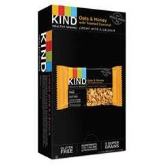 #KND18080 - Kind, 1.2 oz, Healthy Grains Bar, Oats & Honey, w/Toasted Coconut, 12/Case