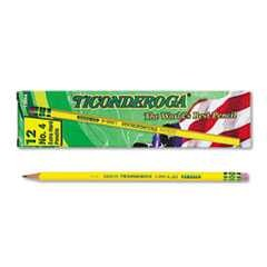 #DIX13884 - Woodcase Pencil, 2H #4, Yellow Barrel, 12/Pk