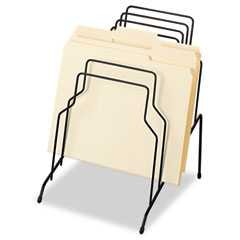 "#FEL72614 - Step File, Eight Sections, Wire, 10 1/8"" x 12 1/8"" x 11 7/8"", Black"