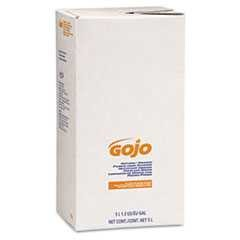 #GOJ7556 - Gojo, 5000 ml, Refill, Pumice Hand Cleaner, Natural Orange, Citrus Scent, 2/Case
