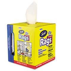 "#KCC75260CT - Scott, 10"" x 12"", Rags"" a Box, White, 8-200/Case"
