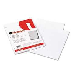 #UNV20923 - Mediumweight 16-lb. Filler Paper, 11 x 8-1/2, Wide Ruled, White, 200 Sheets/Pk