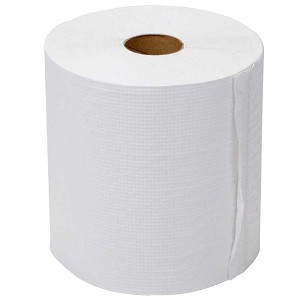 #4611 - 350' Hard Wound Roll Towels, White