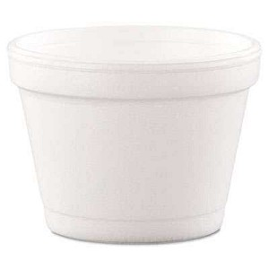 #4748 - 16 oz Squat Containers, 500/Case