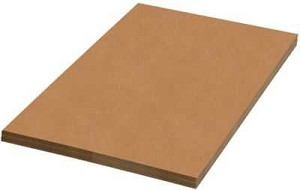 "#3913-A - 24"" x 36"", Corrugated Pad, 350# D.W., Kraft, 10/Set"