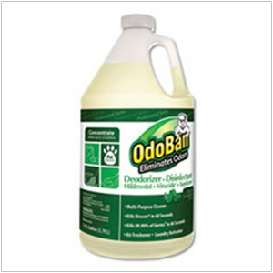 #4524 - OdoBan Disinfectant & Air Freshener Concentrate, Eucalyptus Scent, 1 Gallon