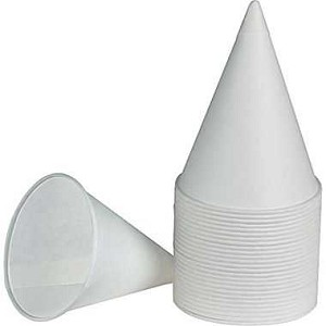 #4826-SLV - Cone Cups, One Sleeve of 200